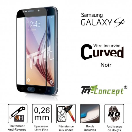 Samsung Galaxy S6 - Vitre de Protection 3D Curved - TM Concept®