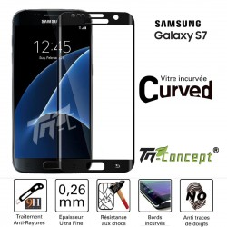 Samsung Galaxy S7 - Vitre de Protection 3D Curved - TM Concept®
