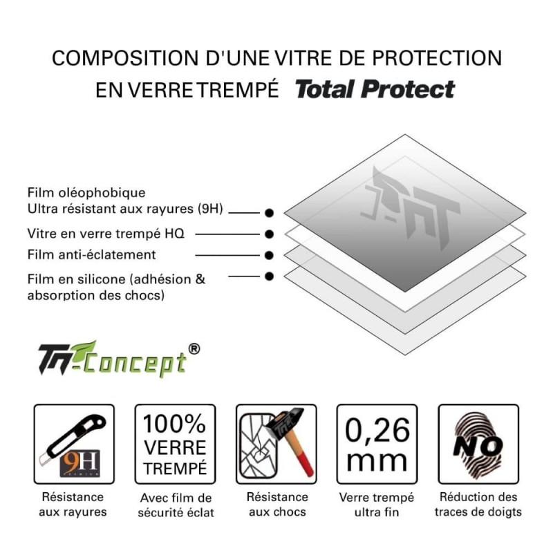 Huawei Mate 10 Pro - Vitre de Protection - Total Protect - TM Concept®