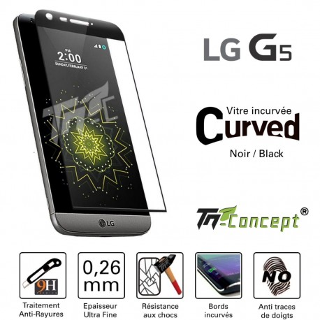 LG G5 - Vitre de Protection Curved - TM Concept®