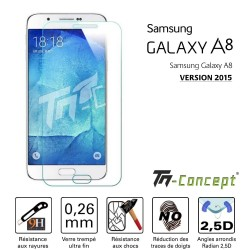 Samsung Galaxy A8 (2015) - Vitre de Protection Crystal - TM Concept®