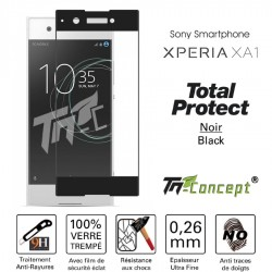 Sony Xperia XA1 - Vitre de Protection - Total Protect - TM Concept®