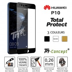 Huawei P10 - Vitre de Protection - Total Protect - TM Concept®