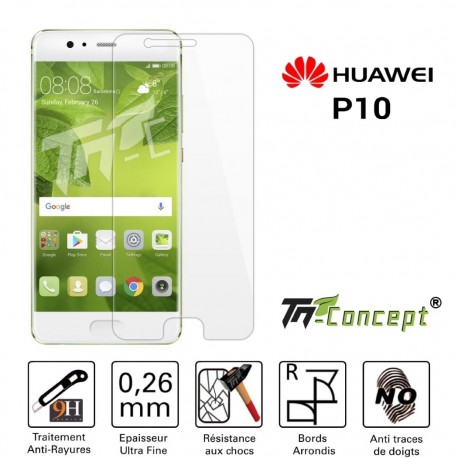 Huawei P10 - Vitre de Protection Crystal - TM Concept®