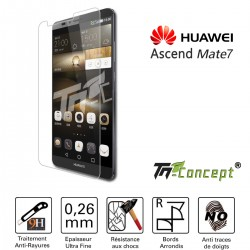 Huawei Ascend Mate 7 - Vitre de Protection Crystal - TM Concept®
