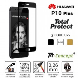 Huawei P10 Plus - Vitre de Protection - Total Protect - TM Concept®