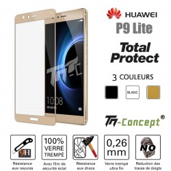 Huawei P9 Lite - Vitre de Protection - Total Protect - TM Concept®