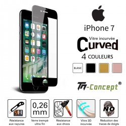 Apple iPhone 7 - Vitre de Protection 3D Curved - TM Concept®