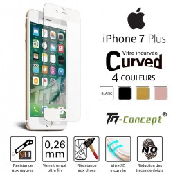 Apple Iphone 7 Plus - Vitre de Protection 3D Curved - TM Concept®