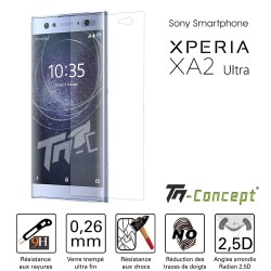 Sony Xperia XA2 Ultra - Vitre de Protection Crystal - TM Concept®
