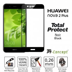 Huawei Nova 2 Plus - Vitre de Protection - Total Protect - TM Concept®