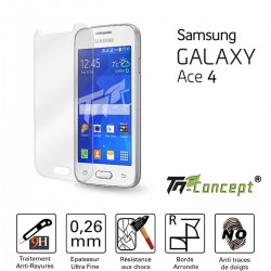 Samsung Galaxy Ace 4 - Vitre de Protection Crystal - TM Concept®