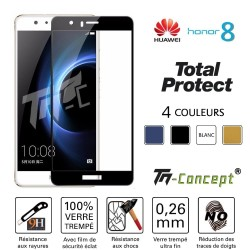 Huawei Honor 8 - Vitre de Protection Total Protect - TM Concept®