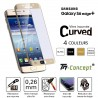Samsung Galaxy S6 edge+ - Vitre de Protection Curved - TM Concept®