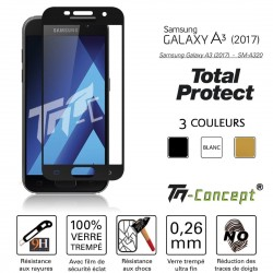 Samsung Galaxy A3 (2017) - Vitre de Protection - Total Protect - TM Concept®