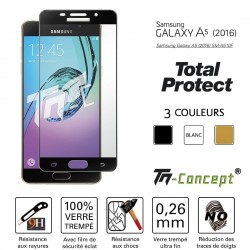 Samsung Galaxy A5 (2016) - Vitre de Protection - Total Protect - TM Concept®