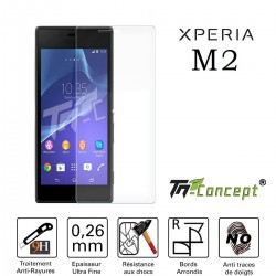 Sony Xperia M2 - Vitre de Protection Crystal - TM Concept®