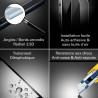 Samsung Galaxy J3 (2017) - Vitre de Protection - Total Protect - TM Concept®