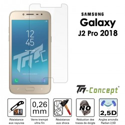 Samsung Galaxy J2 (2018) - Vitre de Protection Crystal - TM Concept®