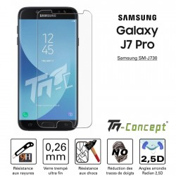 Samsung Galaxy J7 Pro - Vitre de Protection Crystal - TM Concept®
