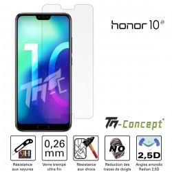 Huawei Honor 10 - Vitre de Protection Crystal - TM Concept®