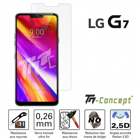 LG G7 (ThinQ) - Vitre de Protection Crystal - TM Concept®