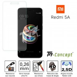 Xiaomi Redmi 5A - Vitre de Protection Crystal - TM Concept®