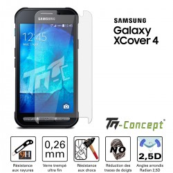 Samsung Galaxy Xcover 4 - Vitre de Protection Crystal - TM Concept®