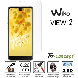 Wiko View 2 - Vitre de Protection Crystal - TM Concept®
