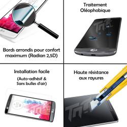 HTC Desire 820 - Vitre de Protection Crystal - TM Concept®