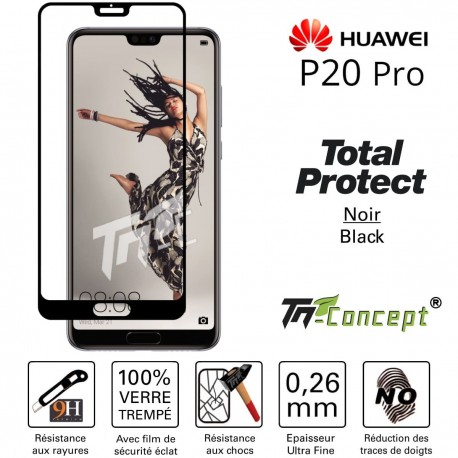 Huawei P20 Pro - Vitre de Protection - Total Protect - TM Concept®