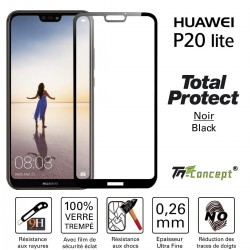 Huawei P20 Lite - Vitre de Protection - Total Protect - TM Concept®