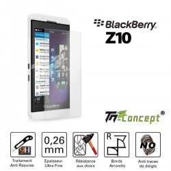 Blackberry Z10 - Vitre de Protection Crystal - TM Concept®