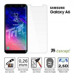 Samsung Galaxy A6 (2018) - Vitre de Protection Crystal - TM Concept®