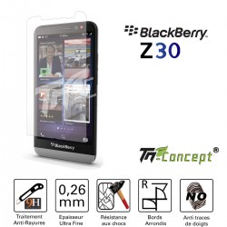 Blackberry Z30 - Vitre de Protection Crystal - TM Concept®
