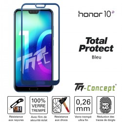 Huawei Honor 10 - Vitre protection intégrale - verre trempé - Total Protect TM Concept®