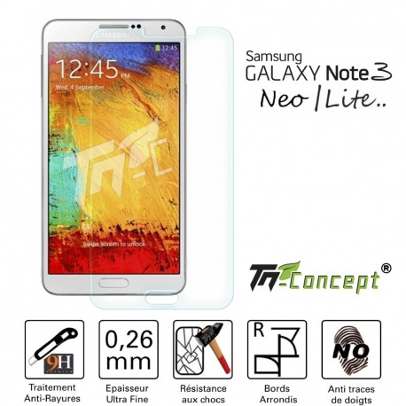 Samsung Galaxy Note 3 Neo - Vitre de Protection Crystal - TM Concept®