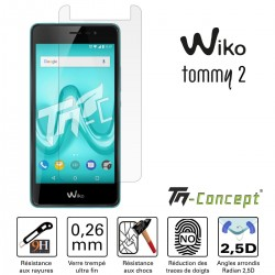 Wiko Tommy 2 - Vitre de Protection Crystal - TM Concept®