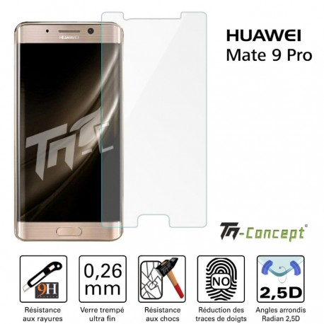 Huawei Mate 9 Pro - Verre trempé TM Concept® - Gamme Crystal
