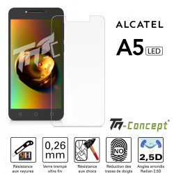Alcatel A5 Led - Verre trempé TM Concept® - Gamme Crystal