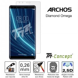 Archos Diamond Omega - Verre trempé TM Concept® - Gamme Crystal