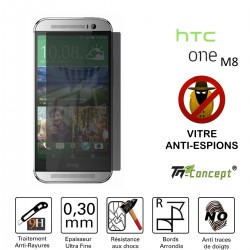 HTC One M8 - Vitre de Protection Anti-Espions - TM Concept®