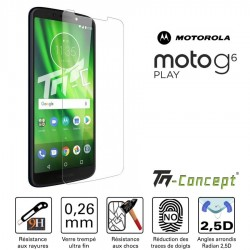 Motorola Moto G6 Play - Verre trempé TM Concept® - Gamme Crystal