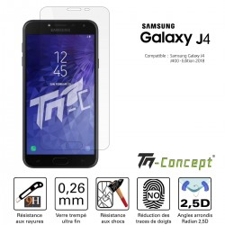Samsung Galaxy J4 (2018) - Verre trempé TM Concept® - Gamme Crystal
