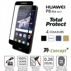 Huawei P8 Lite 2017 - Vitre de Protection - Total Protect - TM Concept®