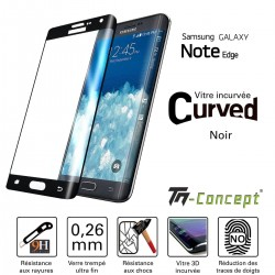 Samsung Galaxy Note Edge - Vitre de Protection 3D Curved - TM Concept®