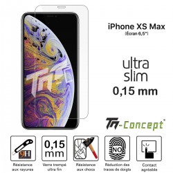 Apple iPhone XS Max - Verre trempé Ultra Slim 0,15 mm - TM Concept®