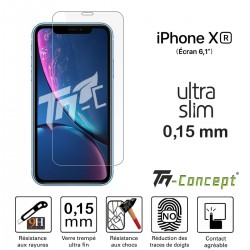 Apple iPhone XR - Verre trempé Ultra Slim 0,15 mm - TM Concept®