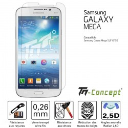 Samsung Galaxy Mega 5.8 - Verre trempé TM Concept® - Gamme Crystal