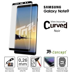 Samsung Galaxy Note 9 - Vitre de Protection 3D Curved - TM Concept®